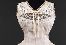 stanik gorsecikowy - corset cover
