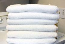 toalhas limpas e macias