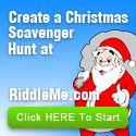 Christmas Scavenger Hunts