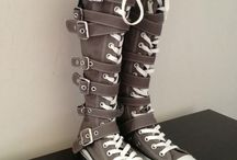 Converse/boots <3