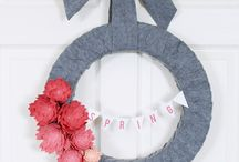 Wreaths Galore / by Kathryn DiBenedetto