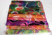 Marbling / fabric marbling, paper marbling, marbling / by Lynda Heines
