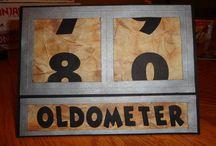 Odometer card
