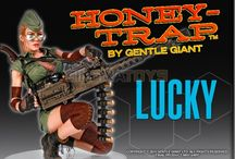 HONEY TRAP Lucky 1/4 Sexy Resin Statue 30cm Gentle Giant Studios Limited