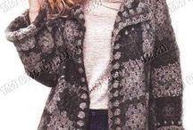 blusão de croche