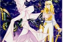 Riyoko Ikeda's world / I love her  beautiful  comics.
