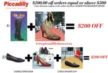 Promotions / One Week Discount Code: $200OFFONORDERSOVER$500. Buy Any New Collection Boots & New Collection Heels to get $200 OFF your order! SAVE $200! One week only! *$200.00 off orders equal or above $500.00