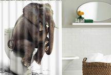 туалет слон