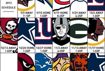 2013 #Eagles Schedule / In photos: #Eagles 2013 regular season schedule.  / by Philadelphia Eagles