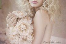 portrait flower inspiration