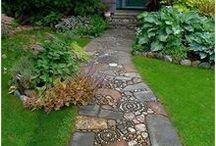 Gartenwege / Gartengestaltung mit Gartenwegen
