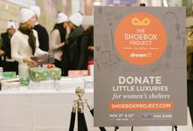 Shoebox Project for Shelters - helps women