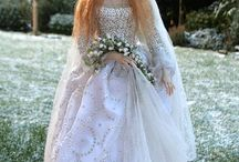 Dollhouse-Miniature-Bride Dolls