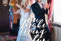 """You Make Loving Fun"" - A Real Weddings Styled Shoot"