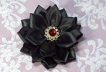 Fabric flowers- Kanzashi