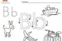 LETRA B / Actividades para trabajar en la enseñanza de la letra B