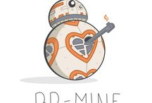 Cute Star Wars and Star Wars love ❤️