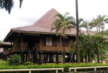 Fawzaan = Rumah Adat Bengkulu