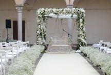 FLORALIADECOR: Timeless summer wedding / #Floraliadecor #www.salzacatering.it #FinalBorgo