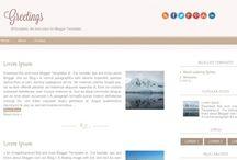 Шаблоны для блога