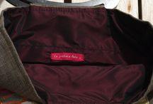 Unique bag : Yuri bag / Bag created by Obi in silk.