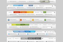 UI - Navigation Bar Designs