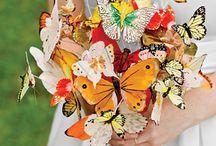 Vow Renewal / Theme: Butterflies! Colors: Orange, yellow, blue! / by Meg Miller