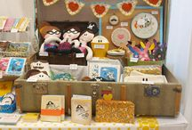 Craft fair table set up ideas / by Carrie Sorrell