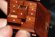 Miniatures inspiration / Inspiration for miniatures, such as doll's house furniture