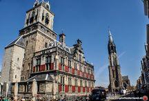 Stadhuizen & Raadhuizen van Nederland / Beautiful town Houses in the Netherlands.
