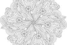 Adult colouring / by Melissa Spooner