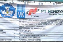 MK Design & Build Rehab Total Gedung Sekolah 3 Wilayah Disdik DKI Jkt 2017 Diduga Melampaui Pagu