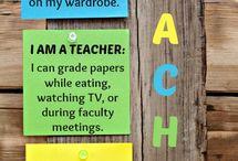 being a teacher