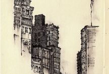 Sketches-buildings