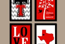 Texas Tech red raiders / by Nicole Suzanne