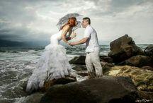 Bodas Playa / Las bodas en la playa lucen bastante así que aqui tenemos Bodas en la playa y Trash the Dress