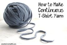 T-Shirt Yarn Stuff