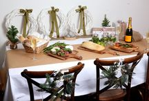 Merry Xmas 2014 / Xmas table settings for your family lunch or dinner
