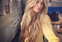 Favourite Hair Styles and Colours