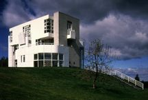 RM 1986 Westchester House Westchester House, New York 1984 - 1986 / RICHARD MEIER 1986 - The Joel and Ann Ehrenkranz Residence, aka the Westchester House, 151 Keeler, North Salem NY. Commissioned 1984. Won an AIA National Award in 1987.
