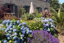 Jardin et extérieur de la ferme Saint-Vennec / Extérieures de la ferme Saint-Vennec