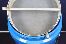 Bucket Filters / Need to filter in a bucket? Check out these plastic and stainless bucket filters! Great for filtering any liquid or powder in a 5 gallon bucket