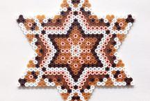 zeshoek stervormig