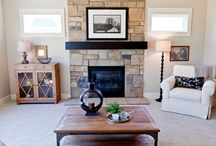 Fireplaces / Often the focal point of the room where everyone gathers, make your fireplace something to remember!