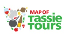 Map of Tassie Tours