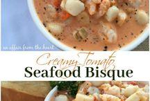 seafood cream soup