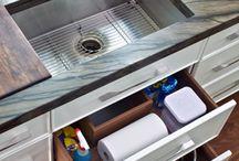 Mutfak dolabı içi düzenleme