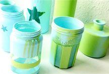 Gläser, Vasen, Geschirr