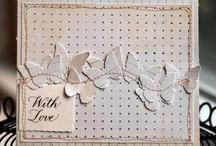 Karten Herz u Schmetterling