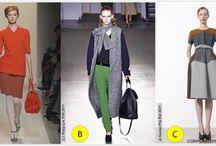 Color Blocking / Color blocked fashion